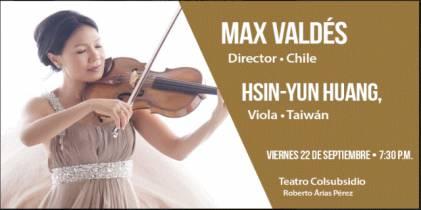Hsin-Yun Huang ha sido una de las principales intérpretes de la viola - Foto: OFB