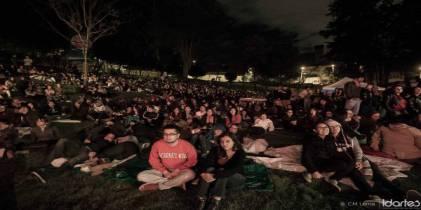 Cinemateca al Parque, en el Bicentenario - Foto: Idartes