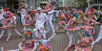 Comparsas Bogotá Siente la Fiesta - Foto: Secretaría de Cultura, Recreación y Deporte