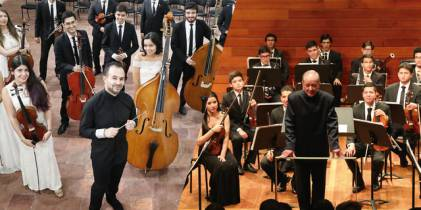 Orquestas Juveniles de Bogotá - Foto: Orquesta Filarmónica de Bogotá OFB