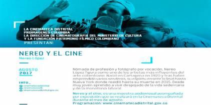 Nereo en el cine: muestra audiovisual y exposición fotográfica