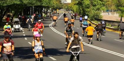 Ciclovías - Foto: Secretaría de Cultura, Recreación y Deporte