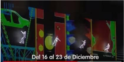 Travesía: Luces, malabarismo y piroctecnia del 16 al 23 de diciembre