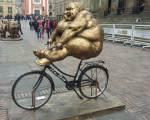 13 esculturas del artísta chino  Xu Hongfei visitan la Plaza de Bolívar - Foto: Alcaldía Mayor de Bogotá