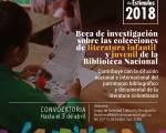 Programa Beca para investigaciones sobre colecciones de literatura infantil y juvenil - Foto: Biblioteca Nacional de Colombia
