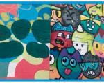 Grafiti - Foto: Alcaldía Local de Puente Aranda