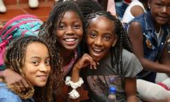 Niñas formadas en derechos humanos - FOTO: Prensa Secretaría de Gobierno