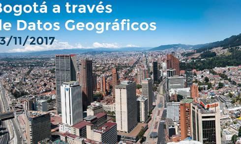 Bogotá, a través de datos geográficos. Foto: Catastro Bogotá