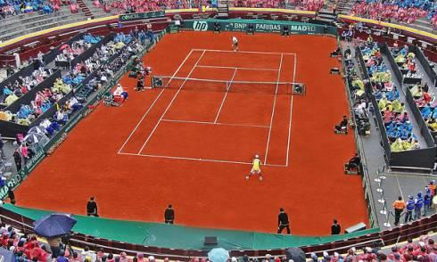 Copa Davis en La Santamaría, 2010 - Foto: Colombia Medios