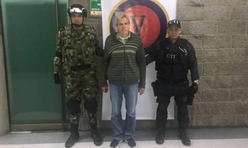 Cabecilla ELN - FOTO: Prensa Brigada 13 del Ejército