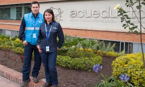 Uniformes Acueducto - FOTO: Prensa Empresa de Acueducto de Bogotá
