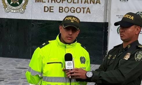 Policía Rescata Menores - FOTO: Prensa MEBOG