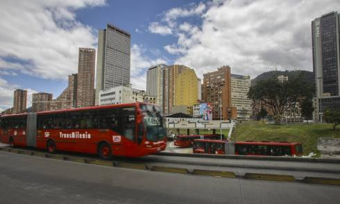 40 minutos menos por trayecto con TransMilenio por la séptima. Foto: Alcaldía Mayor