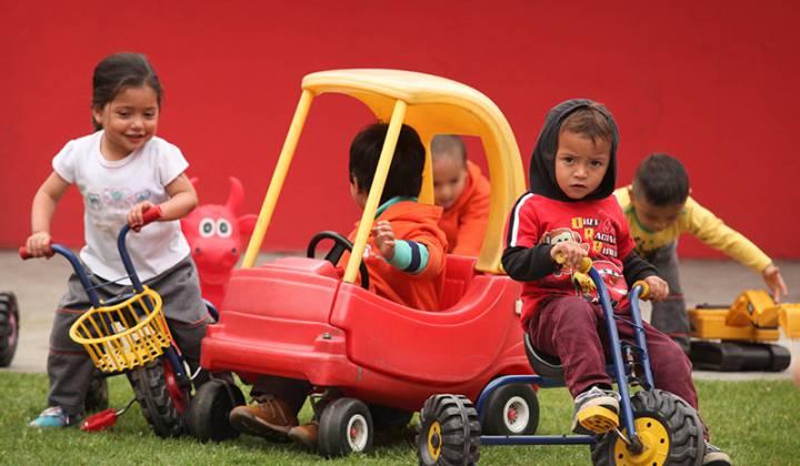 Recreación infantil - Foto: Secretaría de Integración Social