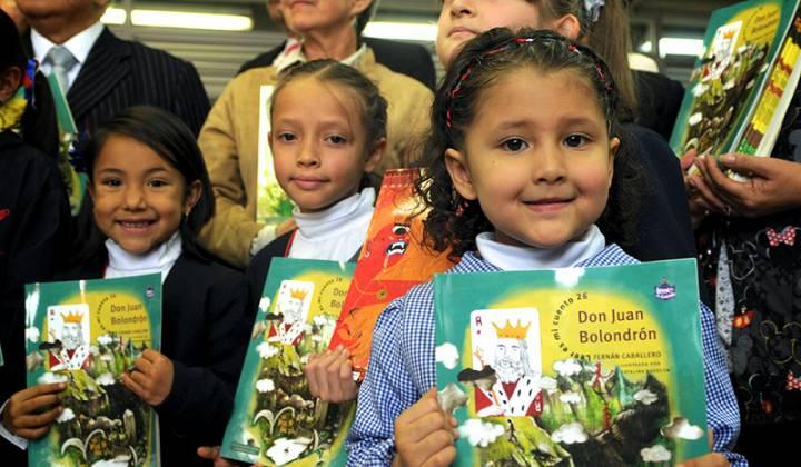 Aquí se lee - Foto: Secretaría de Educación