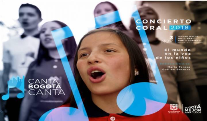 Afiche Canta Bogotá, Canta - Foto: Secretaría de Integración Social