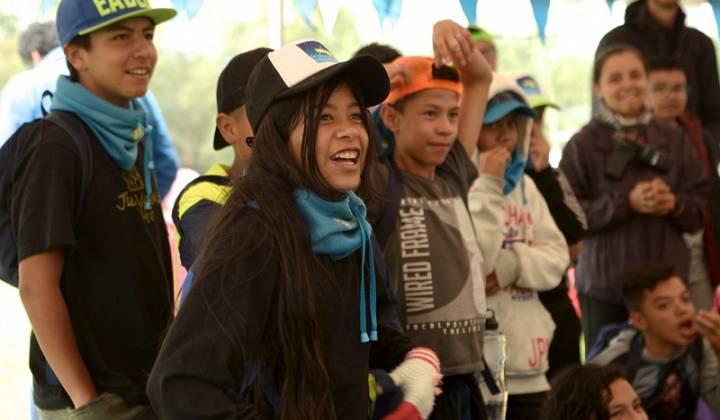 Campamento - Foto: Secretaría Distrital de Educación