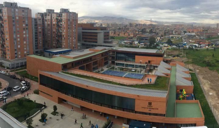 Bogotá cuenta con un nuevo colegio distrital : La Felicidad - Foto:SED