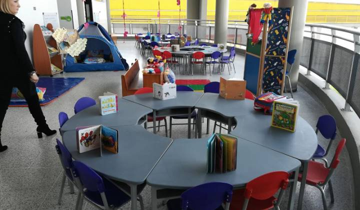 Jardín infantil en la localidad de Fontibón - Foto: Secretaría de Integración Social