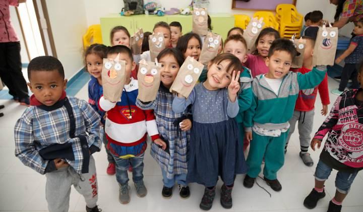 Niños Jardin remodelado en Engativá - Foto: Secretaría de Integración Social