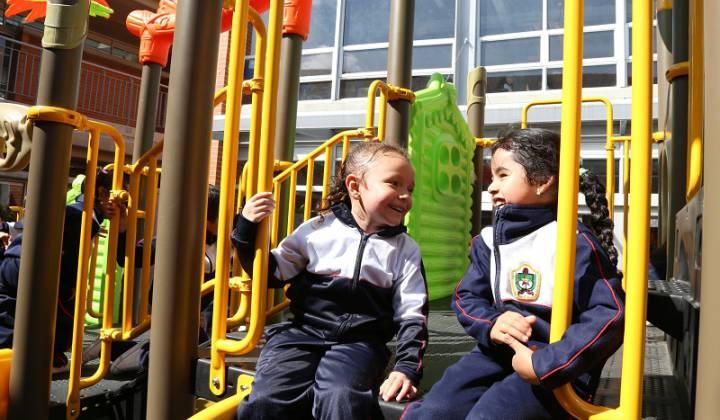 Parques infantiles Foto: Secretaría de Educación