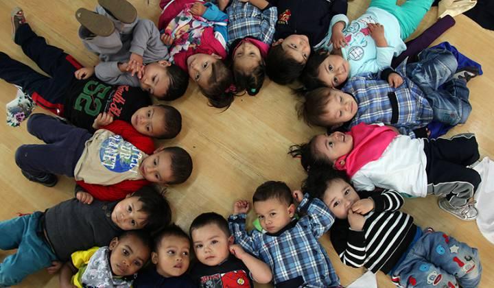 Población infantin - Foto: Secretaría Distrital de Integración Social