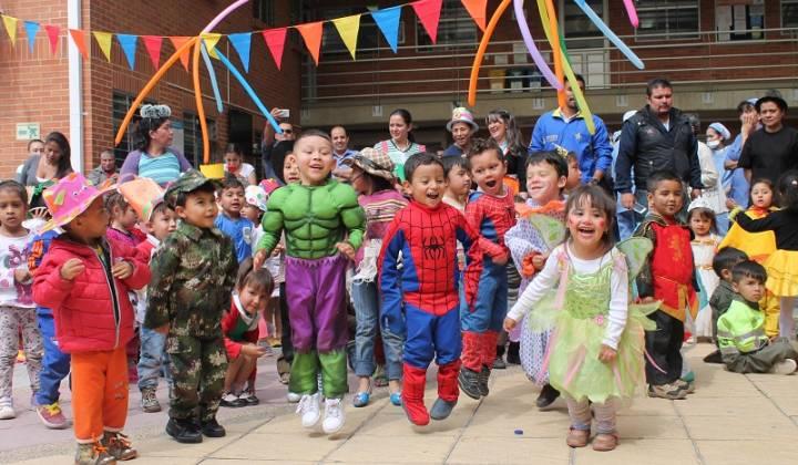 Fiesta en el Jardín La Felicidad - Foto: Secretaría de Integración Social