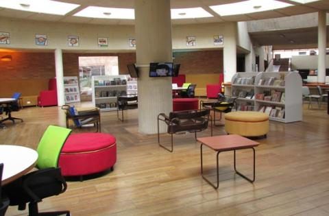 Sala Distrito Gráfico Biblioteca Virgilio Barco - Foto: bogota.gov.co - Carolina Duarte