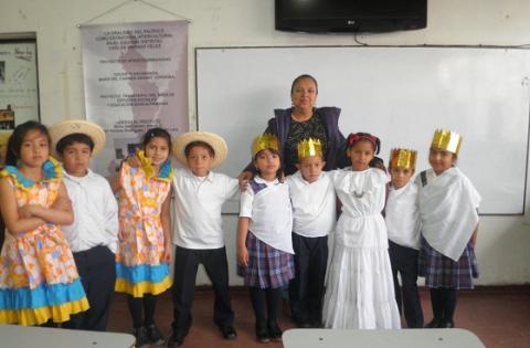 Dramatizado de la poesía de Luis Cané Romance de la niña negra año 2.012 - Foto: María del Carmen Ararat Córdoba