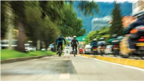 Foto seleccionada en la exposición del Parque Bicentenario - Foto: Secretaría Distrital de Movilidad