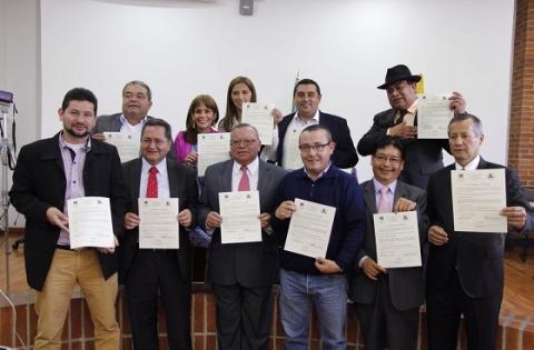 Integrantes de la nueva JAL de Ciudad Bolívar - Foto: Alcaldía Local de Ciudad Bolívar
