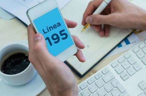 Agendamiento de citas Línea 195 - Foto: Secretaría de Hacienda