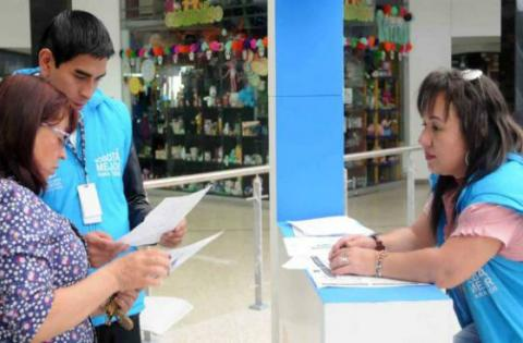 Atención a contribuyentes - Foto: Secretaría de Hacienda