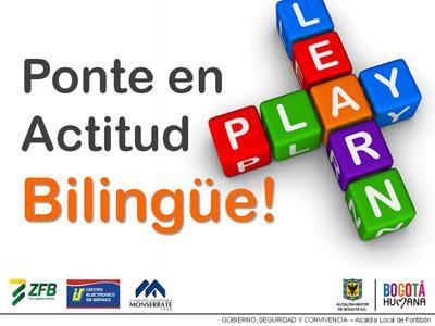 primera fase de inscripción para el programa 'Fontibón Bilingüe' será para 100 personas