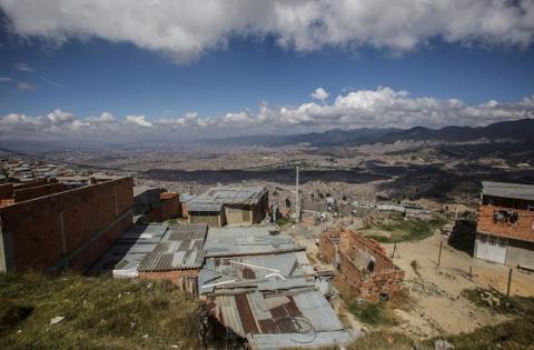 Panorámica desde Ciudad Bolívar - Foto: Comunicaciones Alcaldía Bogotá / Camilo Monsalve