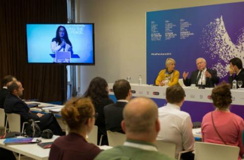 Cumbre Premio Nobel de Paz - Foto: bogota-nobelpeacesummit.com