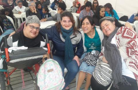 Encuentro de mujeres con discapacidad - Foto: Secretaría de la Mujer