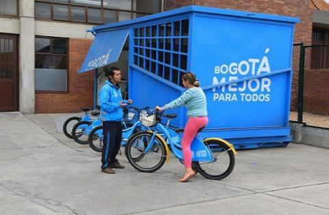 Escuela de la Bici - Foto: Prensa IDRD