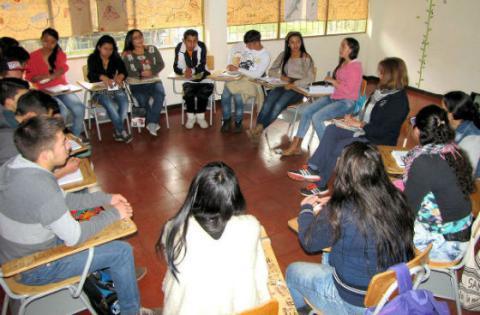 Estudiantes de Sumapaz - Foto: Universidad Nacional