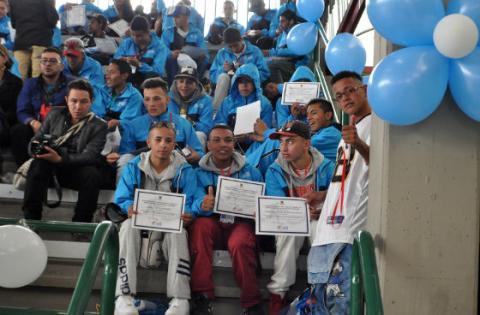Estudiantes del Sistema de Responsabilidad Penal - Foto: Secretaría de Educación