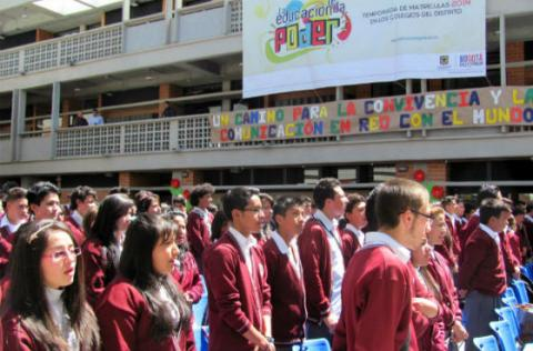 Estudiantes distritales - Foto: Secretaría de Educación