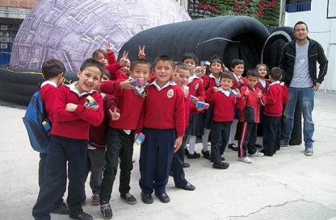 Domo portátil colegios -  Foto: Prensa Secretaría de Educación