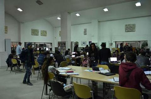 Hemeroteca Universidad Nacional - Foto: Agencia de Noticias UN