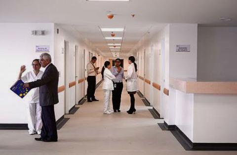 Hospital Universitario - Foto: Agencia de Noticias UN