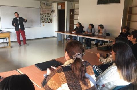 Talleres de Vivelab en localidaes - Foto: Prensa TIC