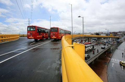 Interconector Calle 6 - Foto: Prensa Alcaldía Mayor de Bogotá