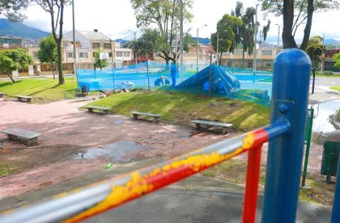 Invierten 500 millones en ciudad jard n de antonio nari o for Barrio ciudad jardin bogota