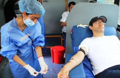 Jornada de Donación de Sangre - Foto: Secretaría de Salud