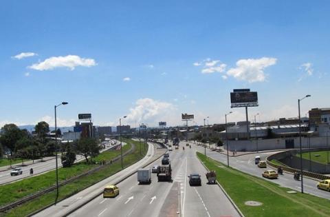 Panorámica calles de Barrios Unidos - Foto: redes sociales de la Alcaldía Local de Barrios Unidos