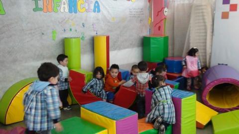 Más de 370 millones se invierten en dotación para jardín infantil
